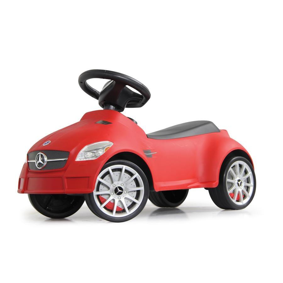 JAMARA Macchinina Kids Cavalcabile- Mercedes SLK55 AMG, rossa