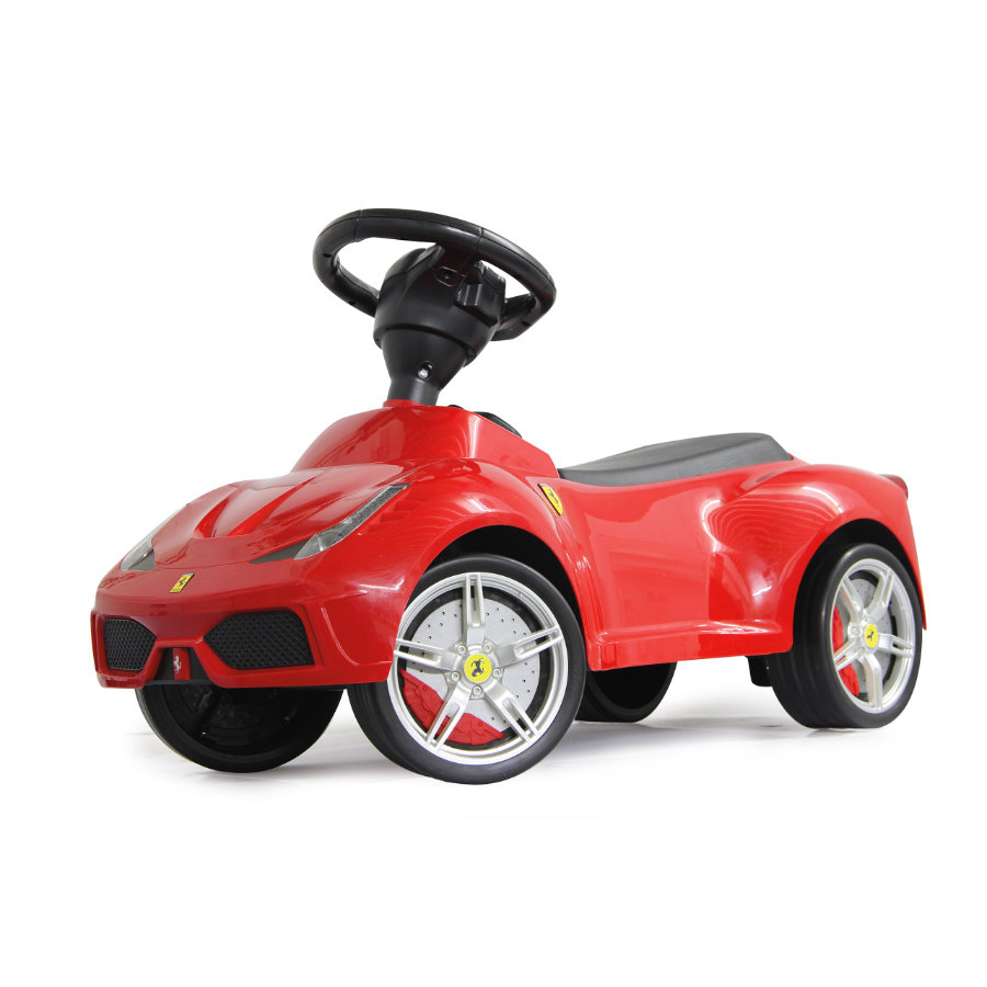 JAMARA Macchinina Kids Cavalcabile- Ferrari 458, rossa
