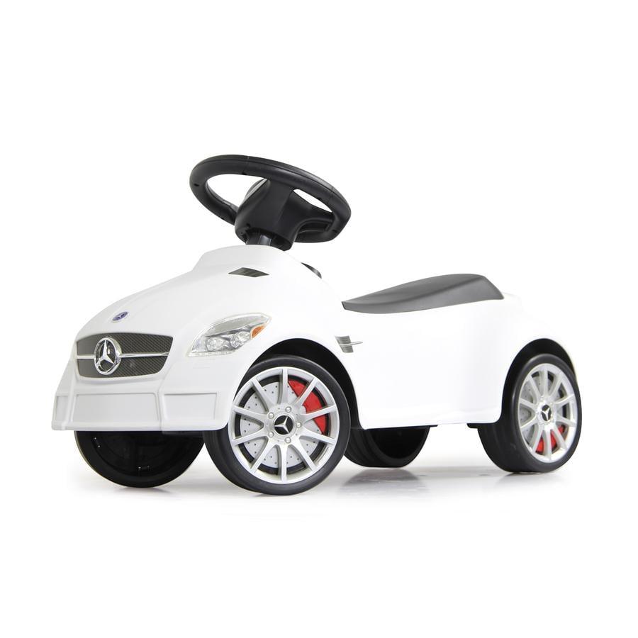 JAMARA Kids gåbil - Mercedes SLK55 AMG, hvid