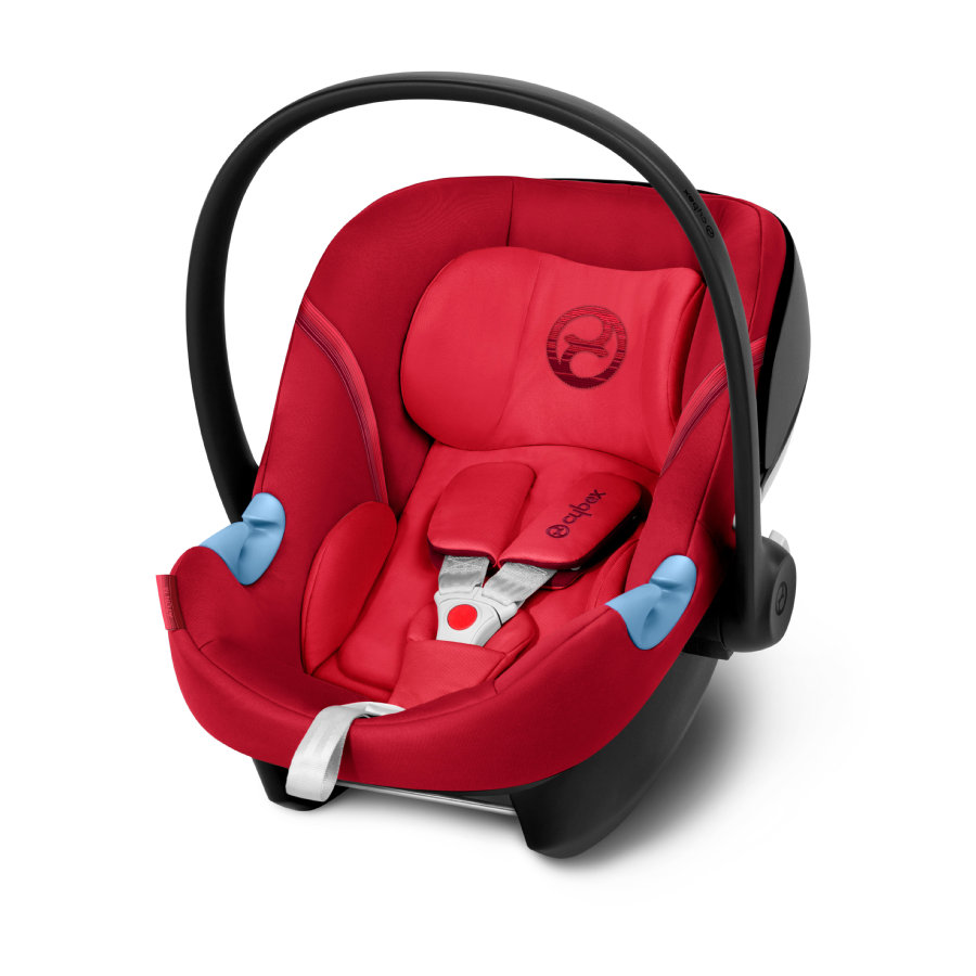 cybex GOLD Babyschale Aton M Rebel Red-red