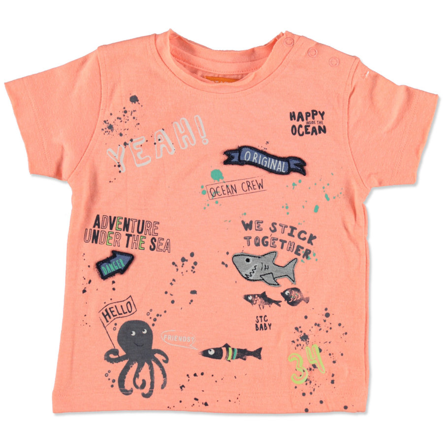 STACCATO Boys T-Shirt neon hummer