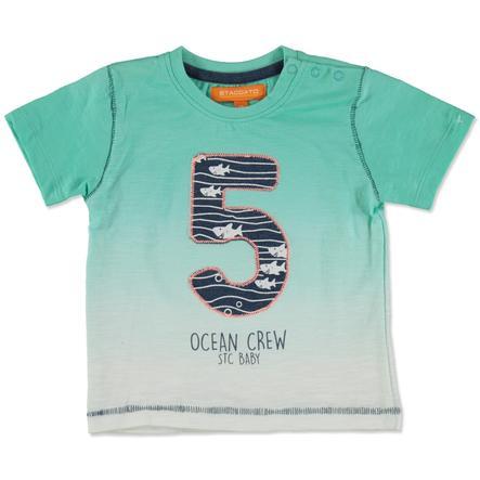 STACCATO Boys T-Shirt zieleń lodowa