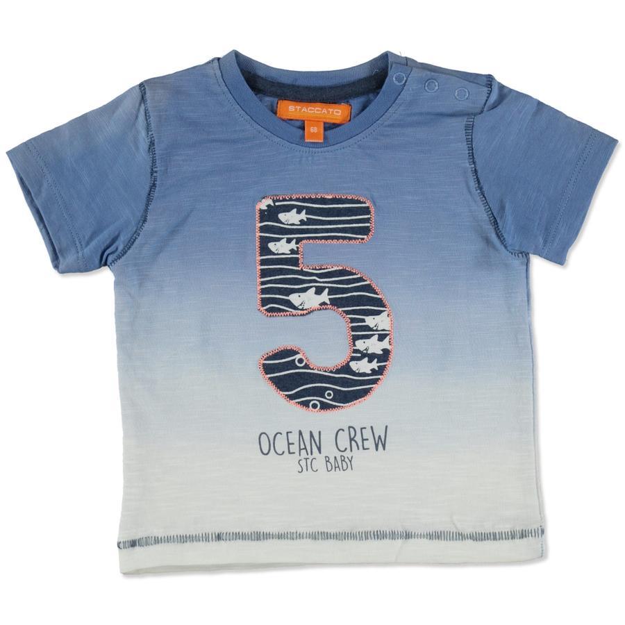 STACCATO Boys T-Shirt donkere hemel melange