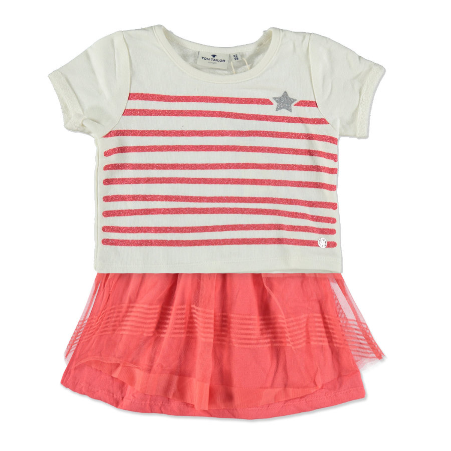 TOM TAILOR Girls Kleid + T-Shirt