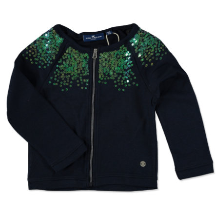 TOM TAILOR Girls Sweatjacke Pailletten