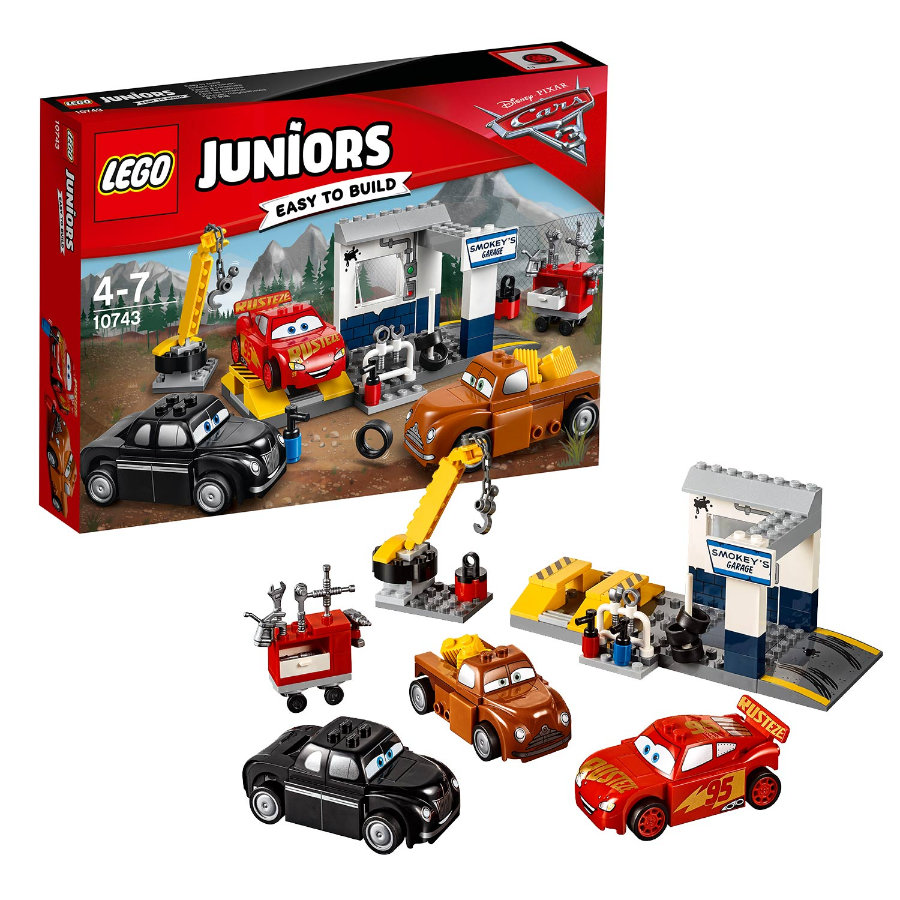 LEGO® Juniors Cars™ Smokeys Garage 10743