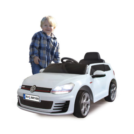 JAMARA Kids Ride-on - VW Golf GTI VII, weiß