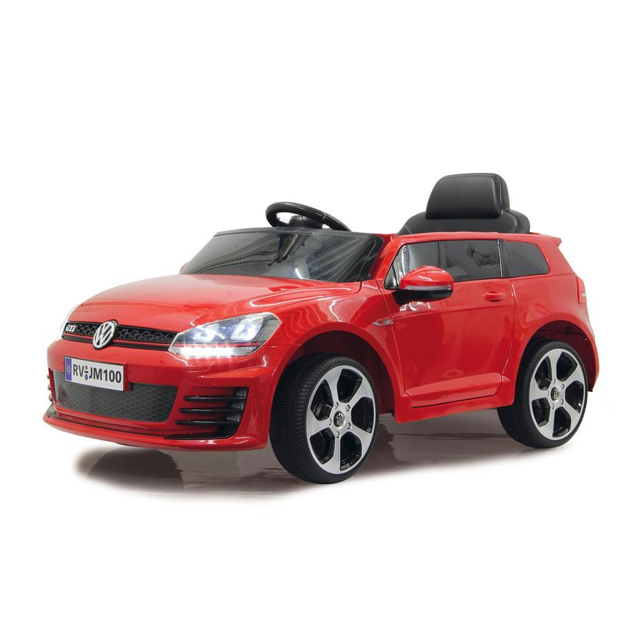 JAMARA Kids Ride-on - VW Golf GTI VII, rood, Accuvoertuig