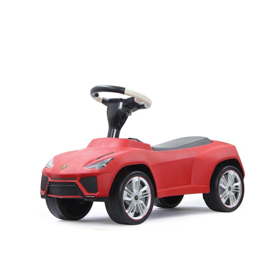 JAMARA Macchinina Kids Cavalcabile- Lamborghini Urus, rossa