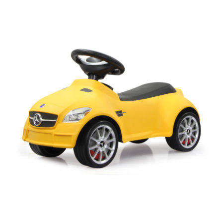JAMARA Kids Gåbil - Mercedes SLK55 AMG, gul