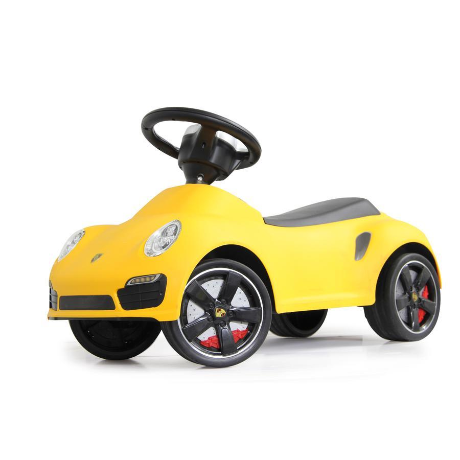 JAMARA Kids Loopauto - Porsche 911, geel