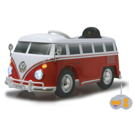 JAMARA Kids Ride-on - VW Bus T1, rot/weiß