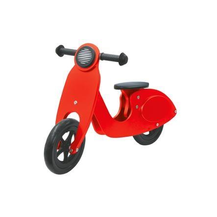 JAMARA Draisienne enfant scooter rouge, bois