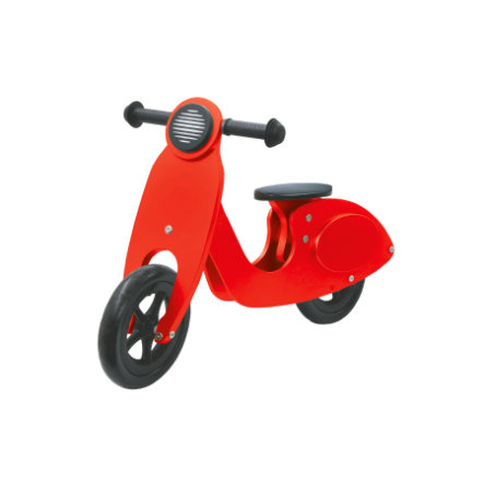 JAMARA Kids Løbecykel - Træscooter, rød