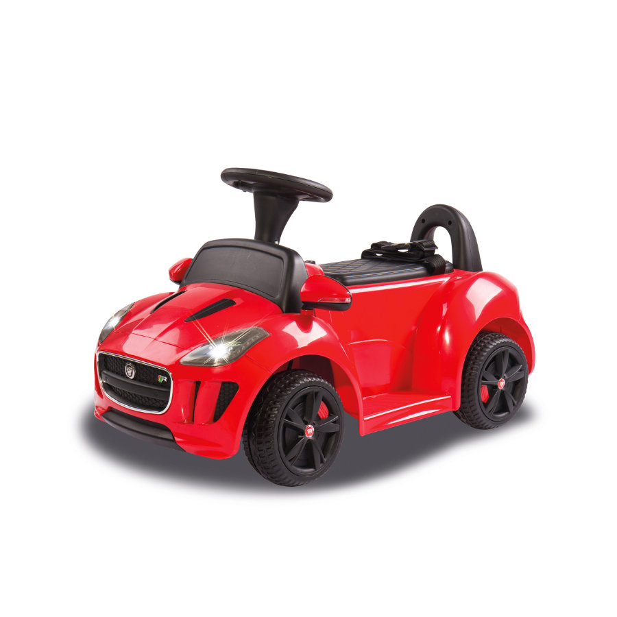 JAMARA Kids Ride-on - Kiddy-Jaguar rood 6 V, Accuvoertuig