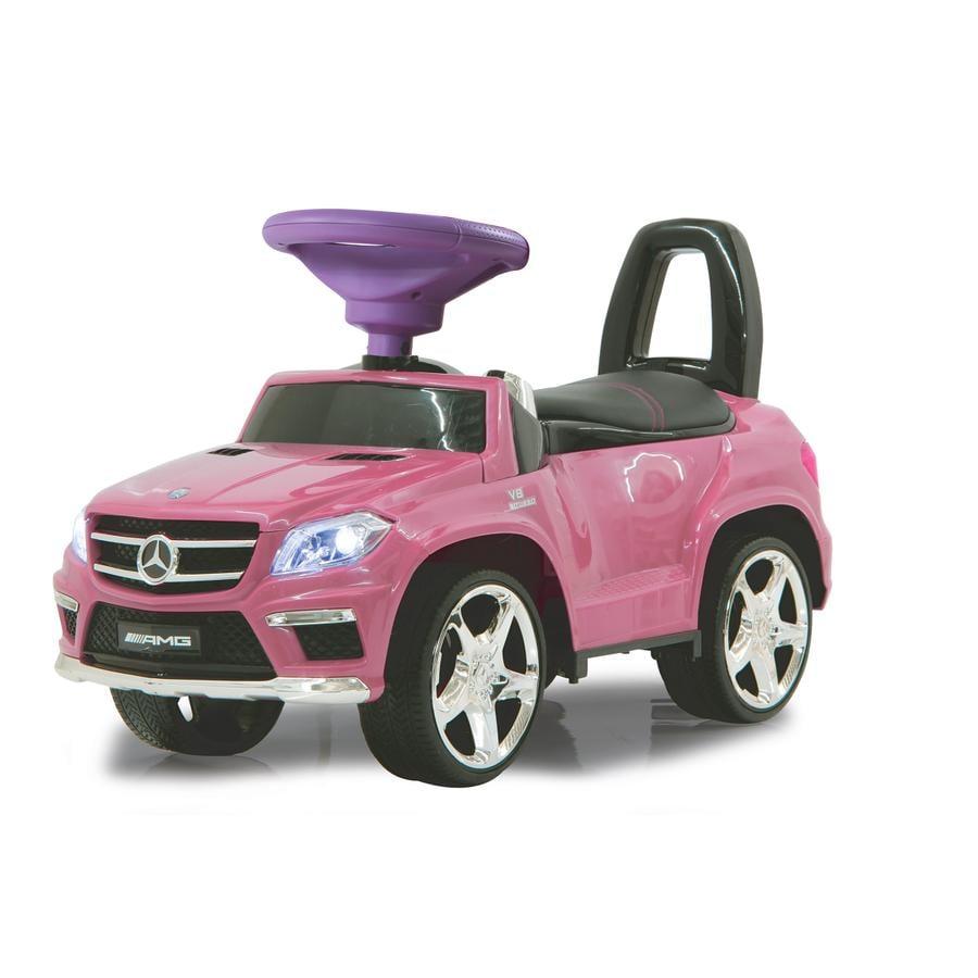 JAMARA Macchinina Kids Cavalcabile- Mercedes GL63 AMG, rosa