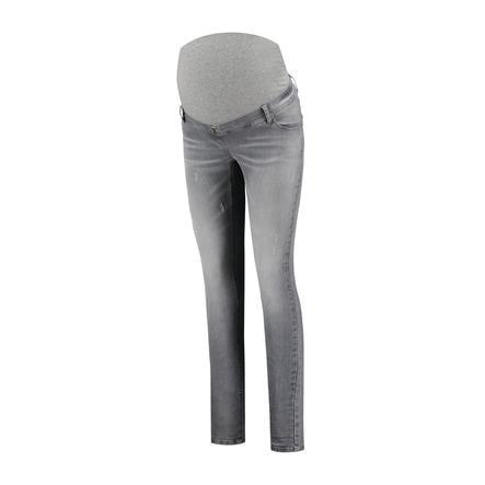 LOVE2WAIT  Jeans til gravide Sophia Destroyed Grey Denim