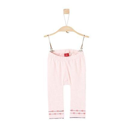 s.Oliver Girl s Leggings jasny różowy melange