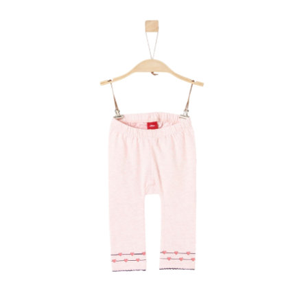 s.Oliver Leggings light pink melange
