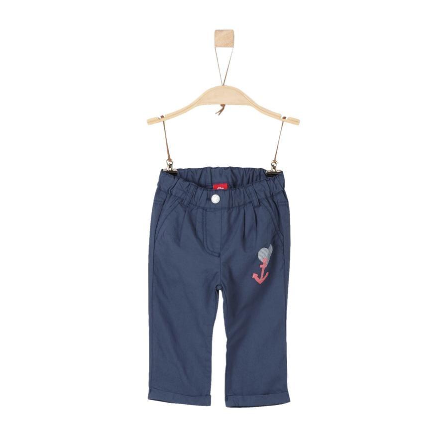 s.Oliver Boys Pantalón azul oscuro