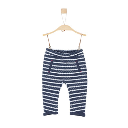 s.Oliver Girl s pantaloni da tuta a righe blu scuro a righe blu scuro