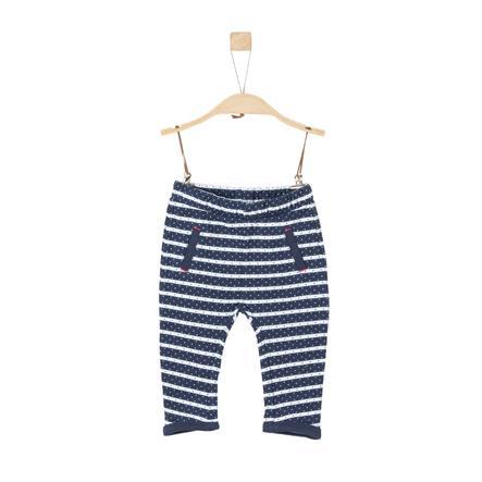 s.Oliver Girls Sweathose dark blue stripes