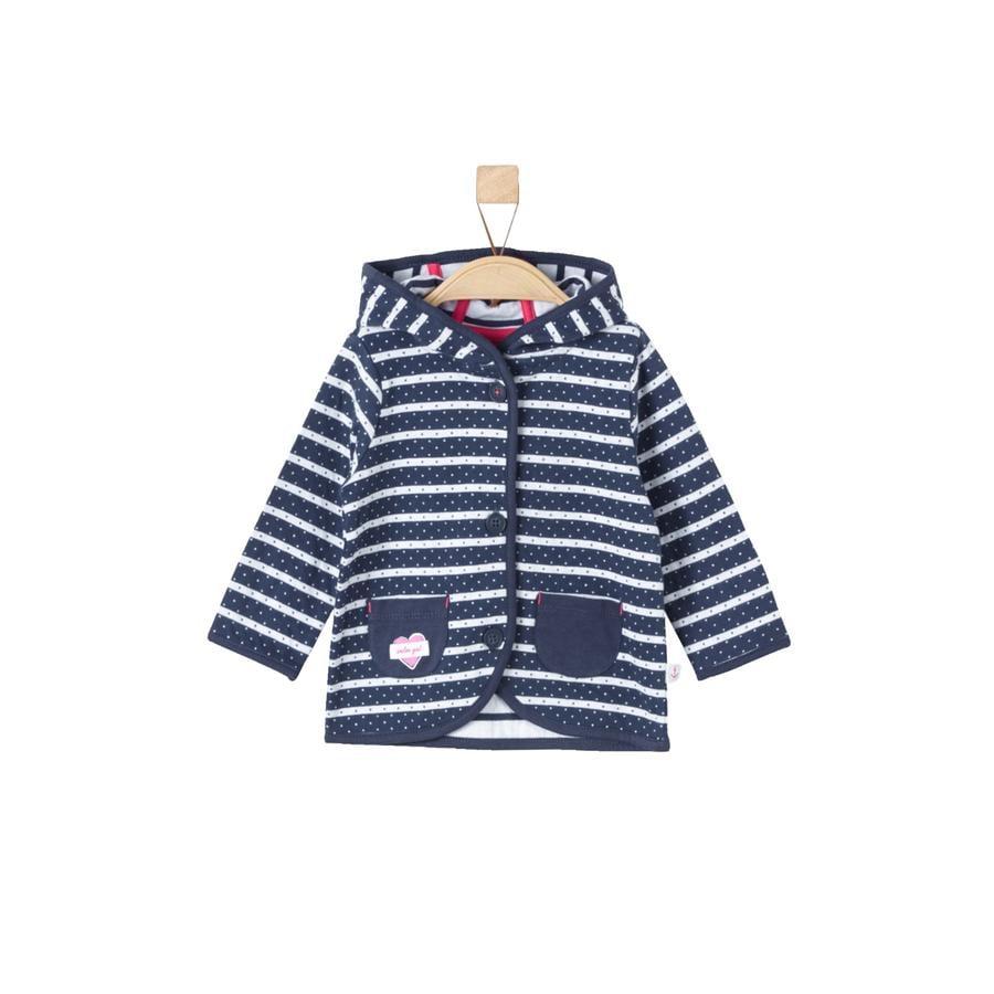 s.Oliver Sweatjacka dark blue stripes