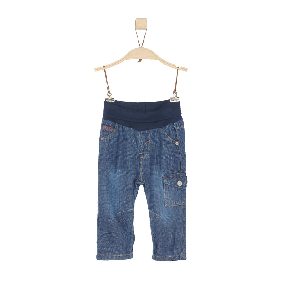 s.Oliver Boys Jeans blue denim non stretch regular