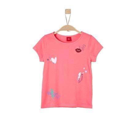 s.Oliver Girl T-Shirt Koral