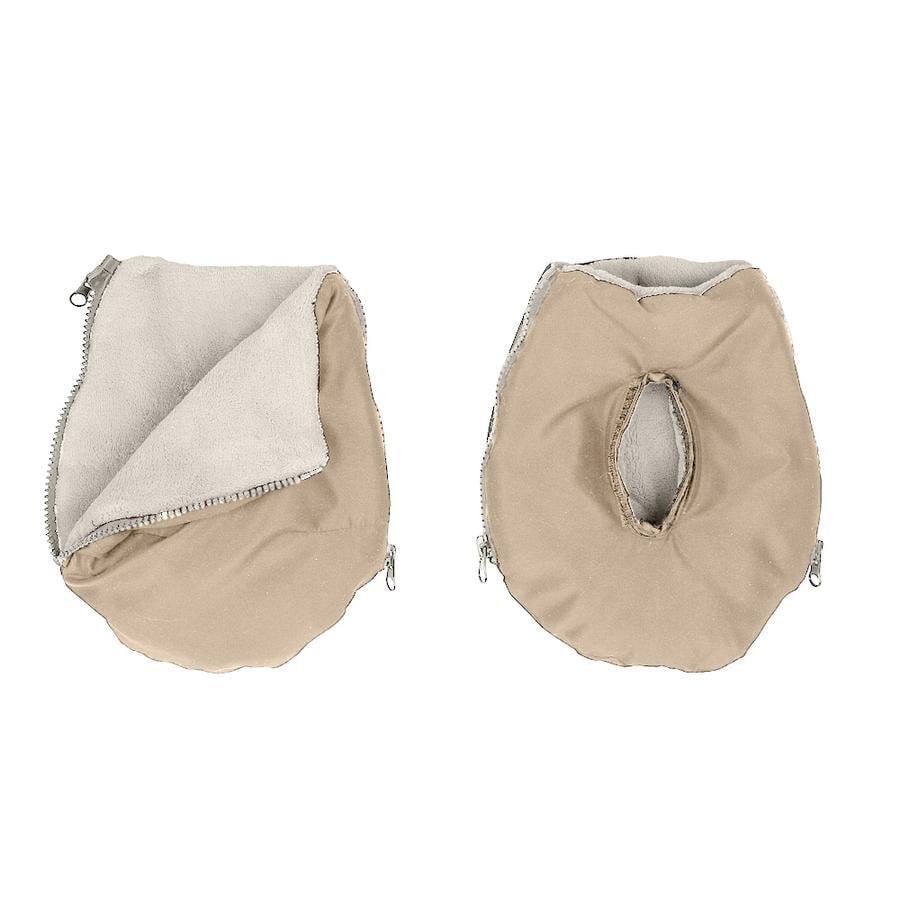Altabebe Protège-mains pour poussette Active, beige/whitewash