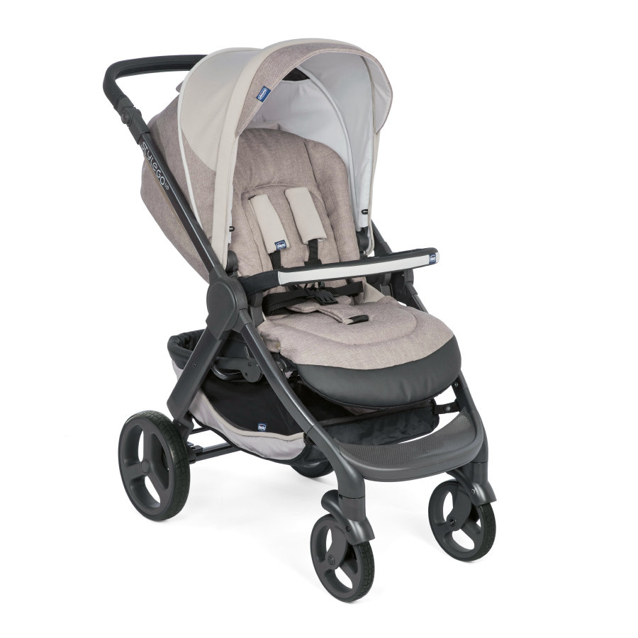 chicco Poussette 4 roues Stylego Up Crossover beige