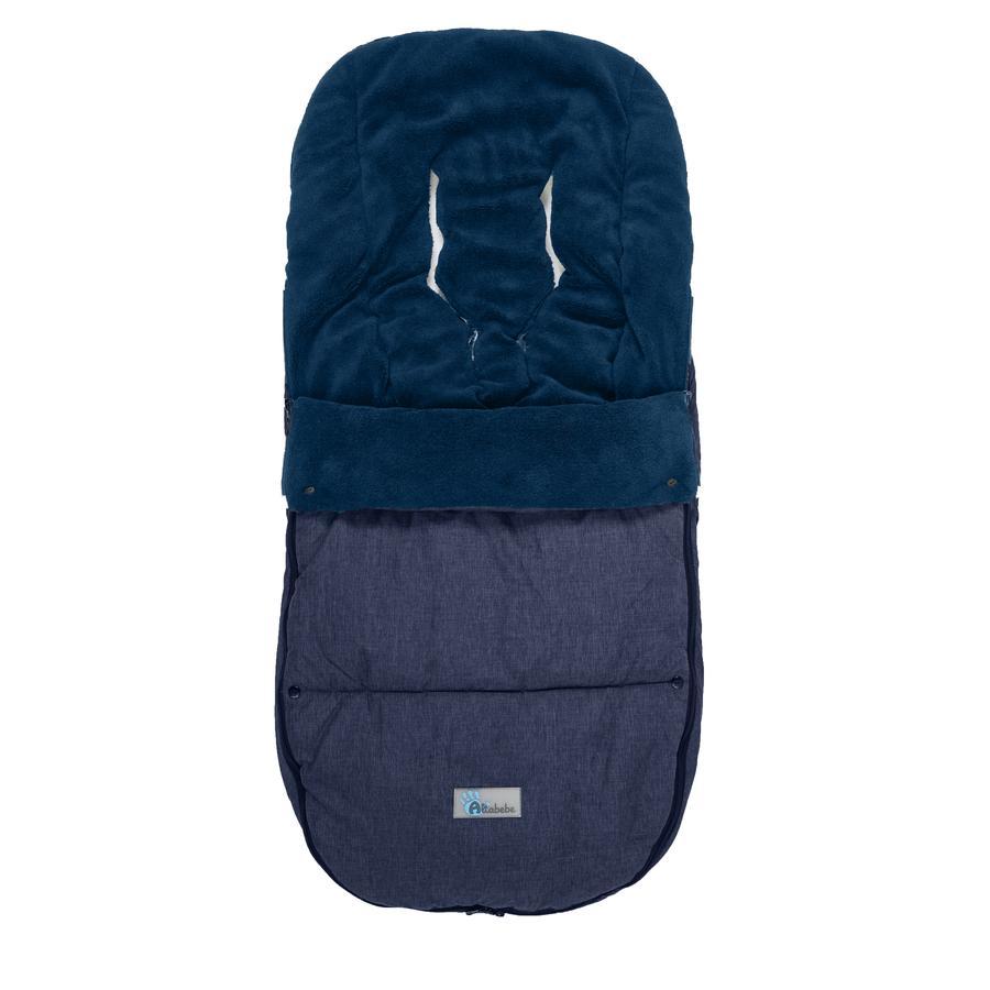 ALTABEBE Śpiworek zimowy Alpin do wózka Bugaboo i Joolz, blau-marine