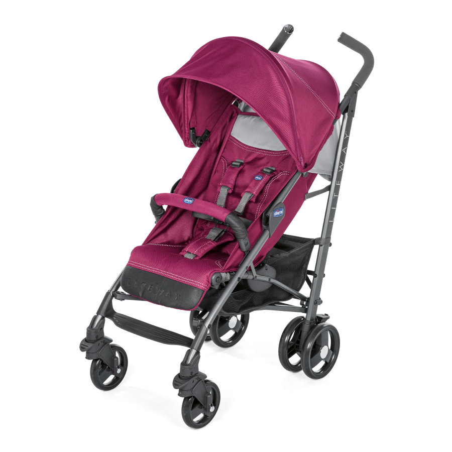 chicco Silla de paseo Lite Way³ Red Plum