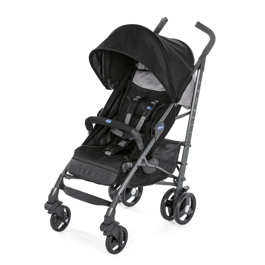 chicco Lite Way³ Jet Black, 2017
