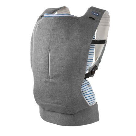 chicco Babytrage Myamaki Complete Grey Stripes