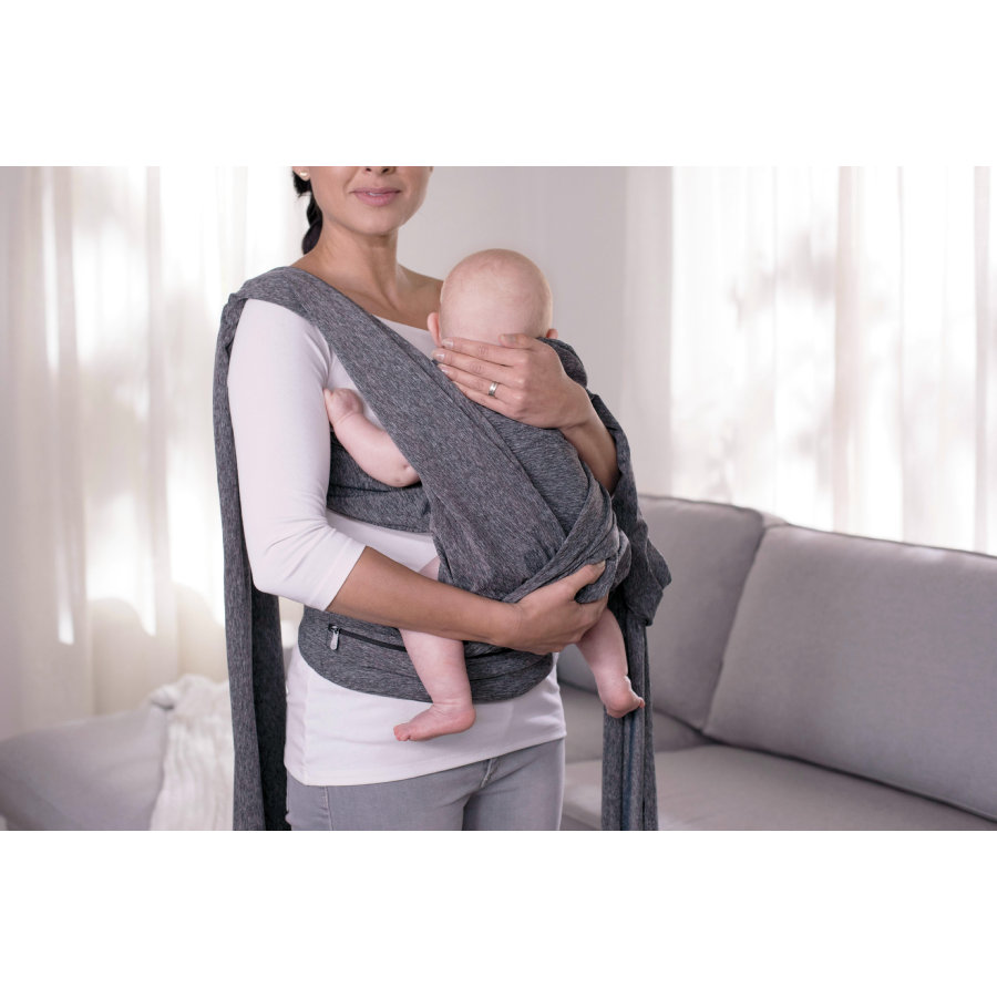 chicco Porte-bébé ventral Comfyfit Boppy Grey