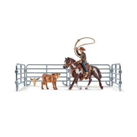 Schleich Team roping mit Cowboy 41418