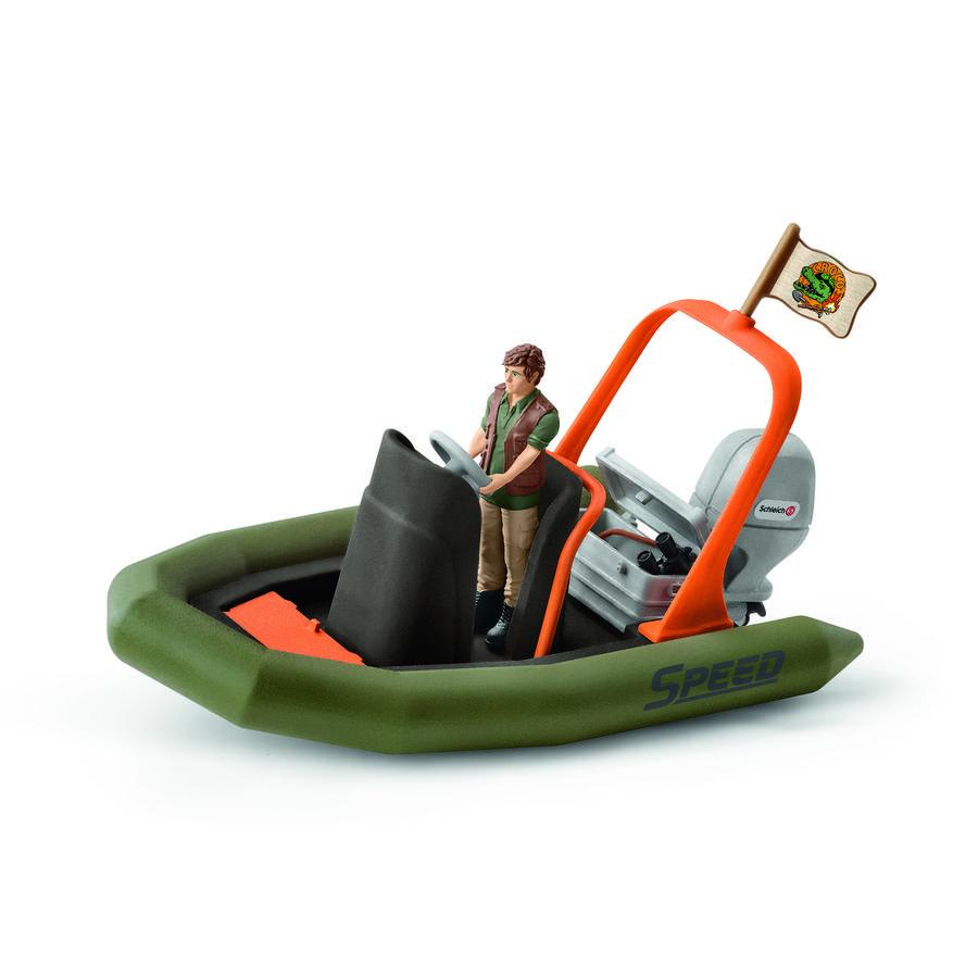 Schleich Schlauchboot mit Ranger 42352