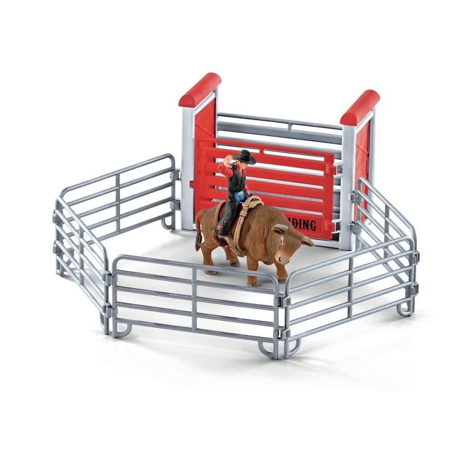 Schleich Bull riding mit Cowboy 41419