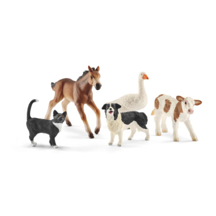 Schleich Farm World- Tier-Mix Set 42386