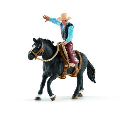 Schleich Figurine Selle western et cowboy 41416