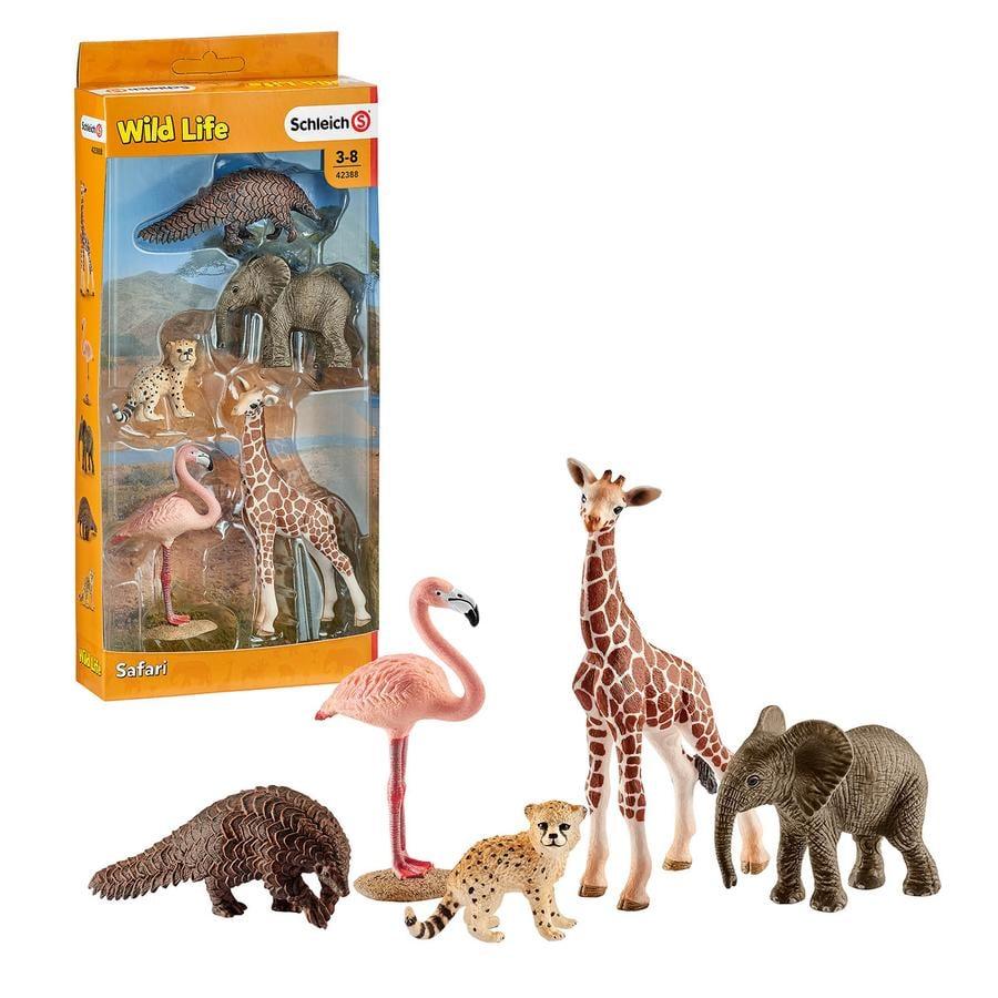 Schleich Set de animales salvajes Wild Life
