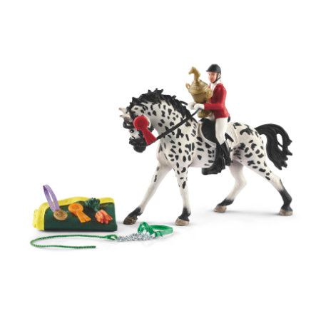 Schleich Figurine Tournoi jument Knabstrupper 41434