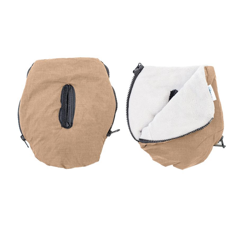 Altabebe Handwärmer Alpin für Kinderwagen braun-whitewash