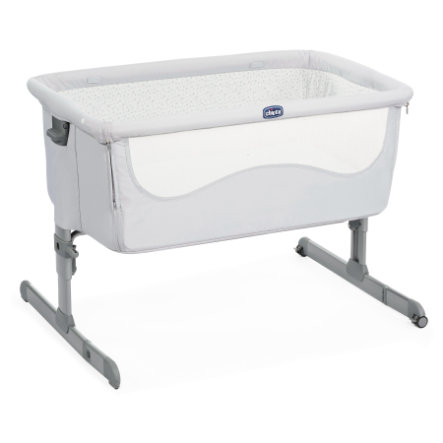 chicco Beistellbett Next2Me Light Grey