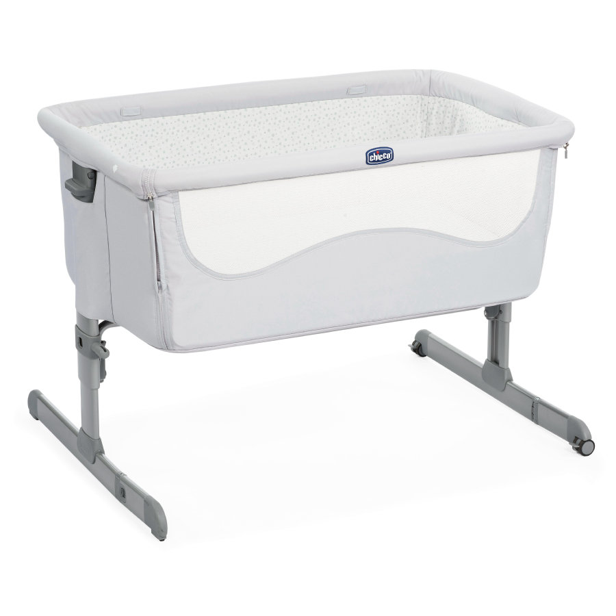 chicco Sidosäng Next2Me Light Grey