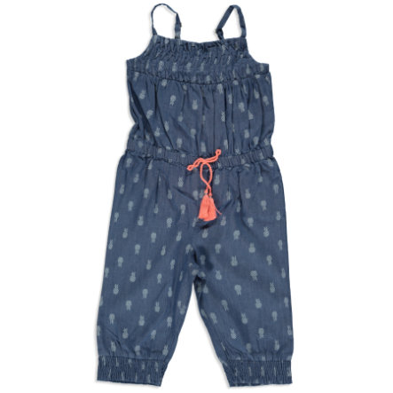 STACCATO Girls Jumpsuit blue denim aop
