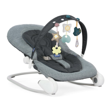 CHICCO Hoopla Keinusitteri, Dark Grey