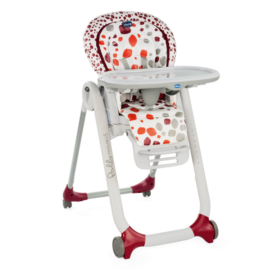 CHICCO Kinderstoel Polly Progres5 Cherry
