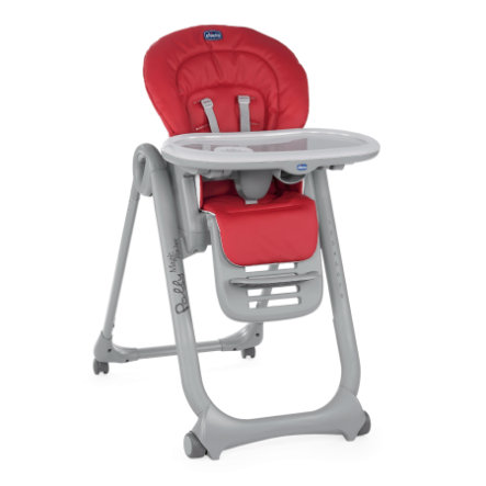 chicco Hochstuhl Polly Magic Relax Red